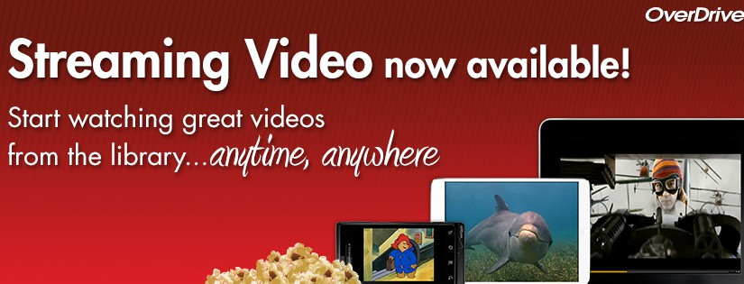 Streaming Video Now Available on Overdrive