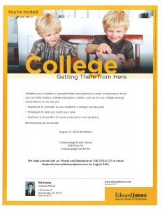 College: Getting There From Here @ Chickamauga Public Library