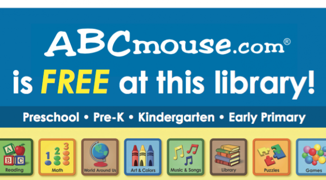 ABC Mouse now available for in-library use