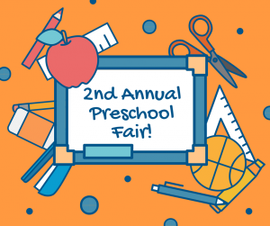 2nd Annual Pre-School Fair!