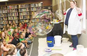Bubble Lady, Kit Killingsworth @ Rossville Public Library | Rossville | Georgia | United States