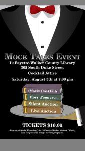Mock Tales! @ LaFayette-Walker County Library | LaFayette | Georgia | United States