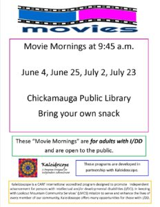Movies at the Library | Cherokee Regional Library System
